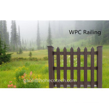 Wood Grain Timber Like Water Proof WPC Products Garden Use Patio WPC Fence